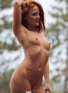 Lots Of Cute Strippers Show Off Their Skills Completely Naked At An Outdoor Public Nudity Festival - Picture 7